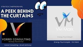 A Peek Behind The Curtains - Energy Psychology with Vivi Mark