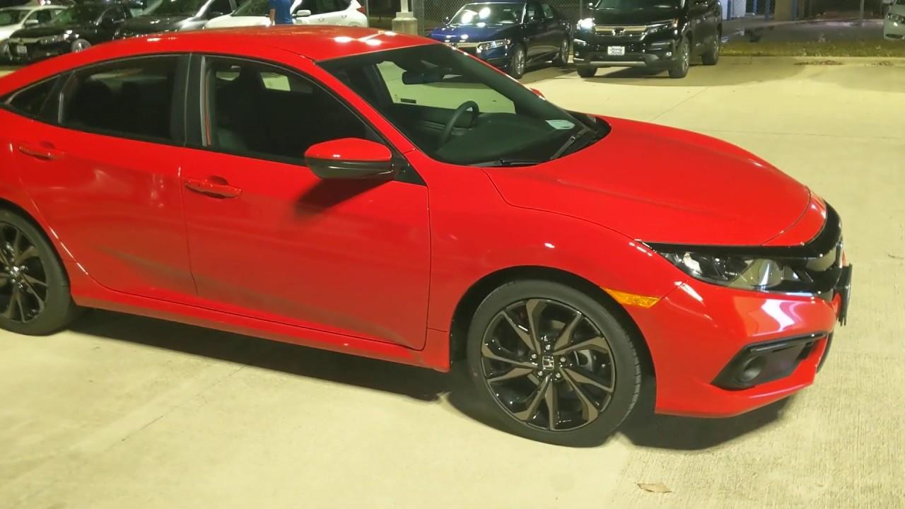 2020 Honda Civic Sport quick review