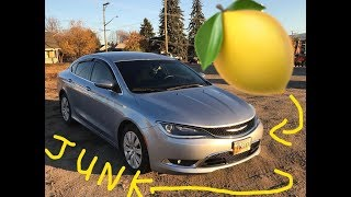 **CHRYSLER DOESN'T WANT YOU TO KNOW** Lemon Chrysler 200