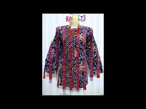 Model Baju Batik Wanita Desain Terbaru 081330534158 Mp3