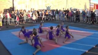 Эстетическая гимнастика. Показательное выступление в День физкультурника-2016. Сумы