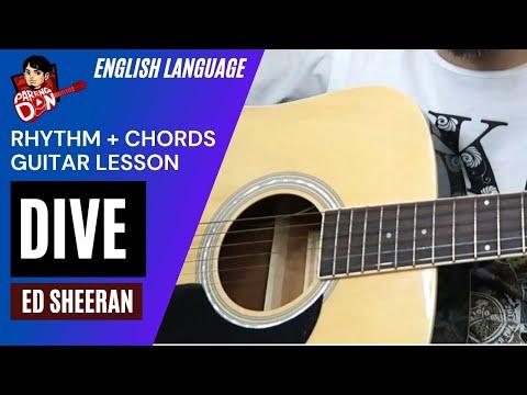 Guitar tutorial dive chords and rhythm riffs ed sheeran by pareng don youtube - Ed sheeran dive chords ...