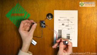 20 second recording and playback module br9 product demonstration from electronics123 com