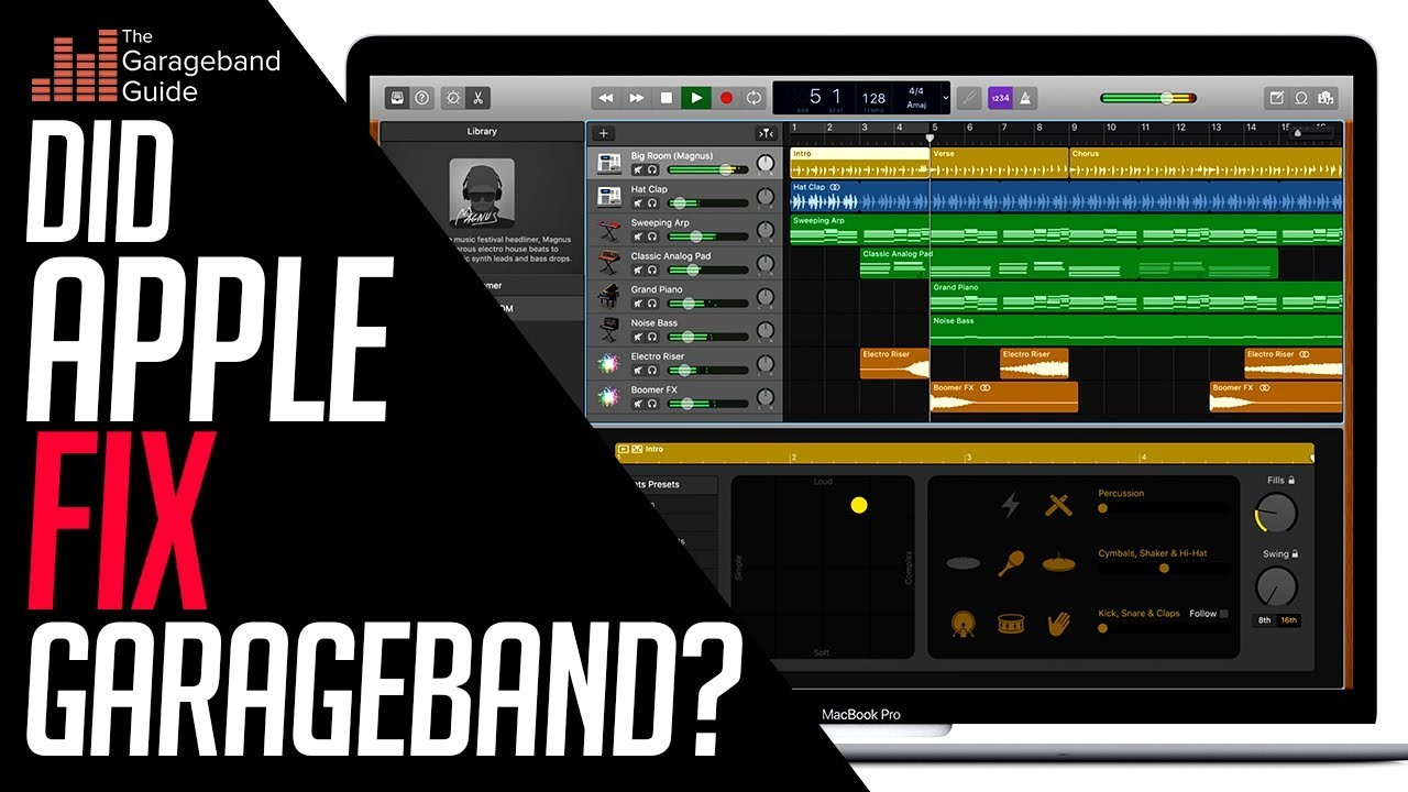 Garageband X How It Works Pdf Garageband 10 3 1 Update 2018 The Plugin Fix