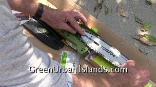 Unbox and Assemble Sun Joe 8 Inch 6.5 AMP Electric Pole Saw