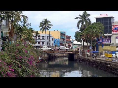 Suva - the capital of Fiji  HD