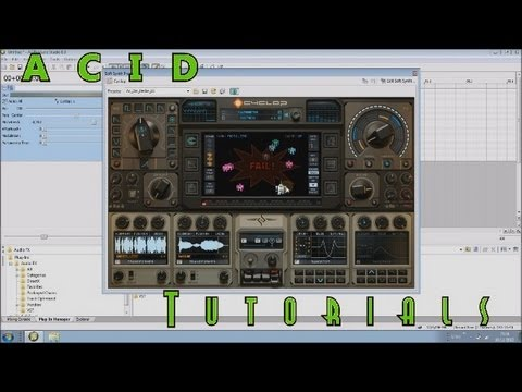 How to use Vst Plugins and Synths in Sony ACID (Tutorial)
