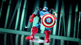 Lego Marvel Super Heroes - The Avengers ...ultra Build !!