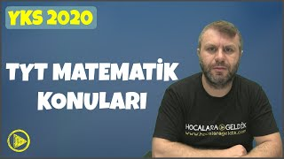 YKS 2020 TYT - AYT Matematik Konuları