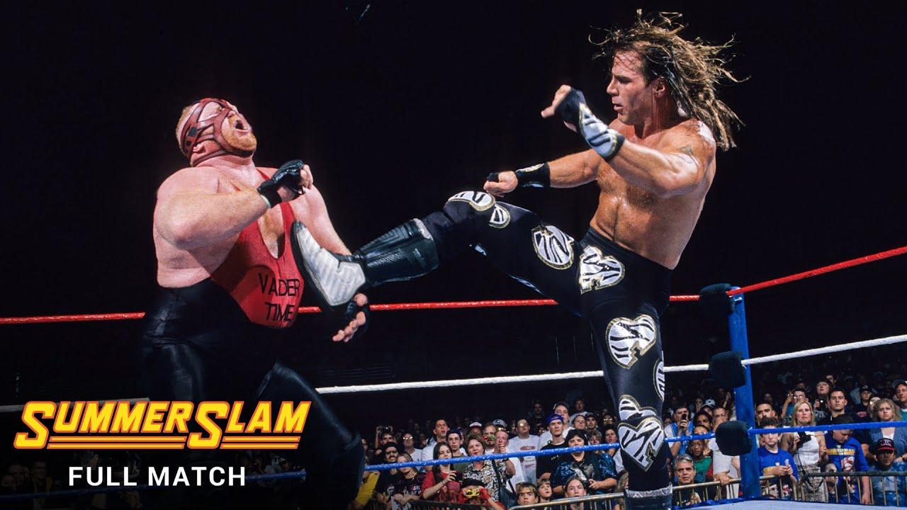 FULL MATCH - Shawn Michaels vs. Vader - WWE Title Match: SummerSlam 1996