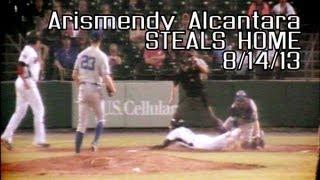 Tennessee Smokies - Arismendy Alcantara Steals Home 8/14/13