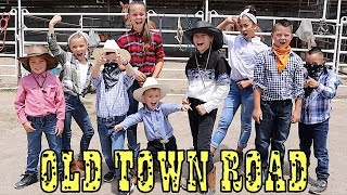 OLD TOWN ROAD Kids Dance Music Video