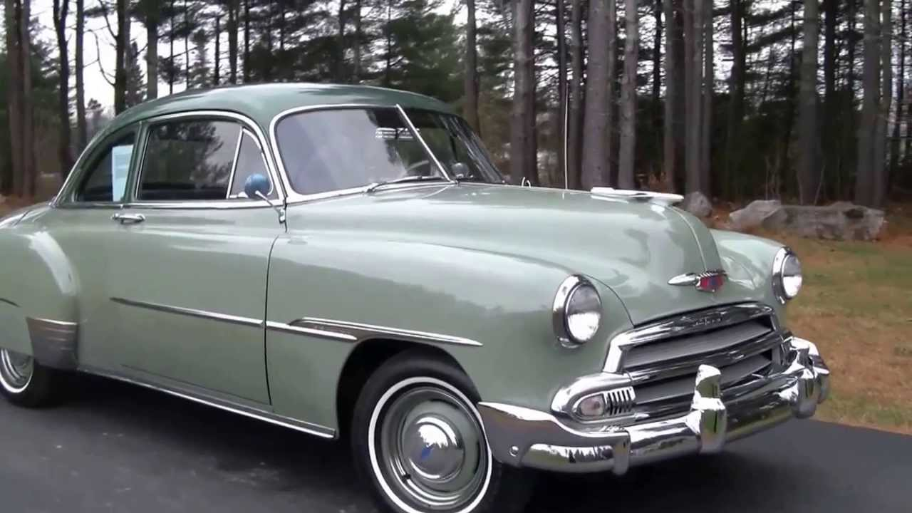 Coupe 1951 chevy sport coupe : 1951 Chevy Styleline Deluxe - YouTube