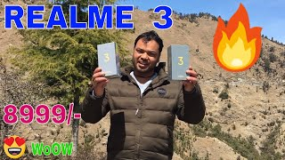 Realme 3 Unboxing Review and Camera Video Quality test in Hindi