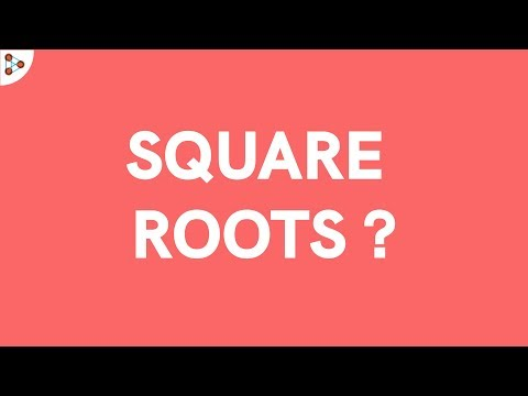 What Are Square Roots? | Exponents | Best Square Root Tricks