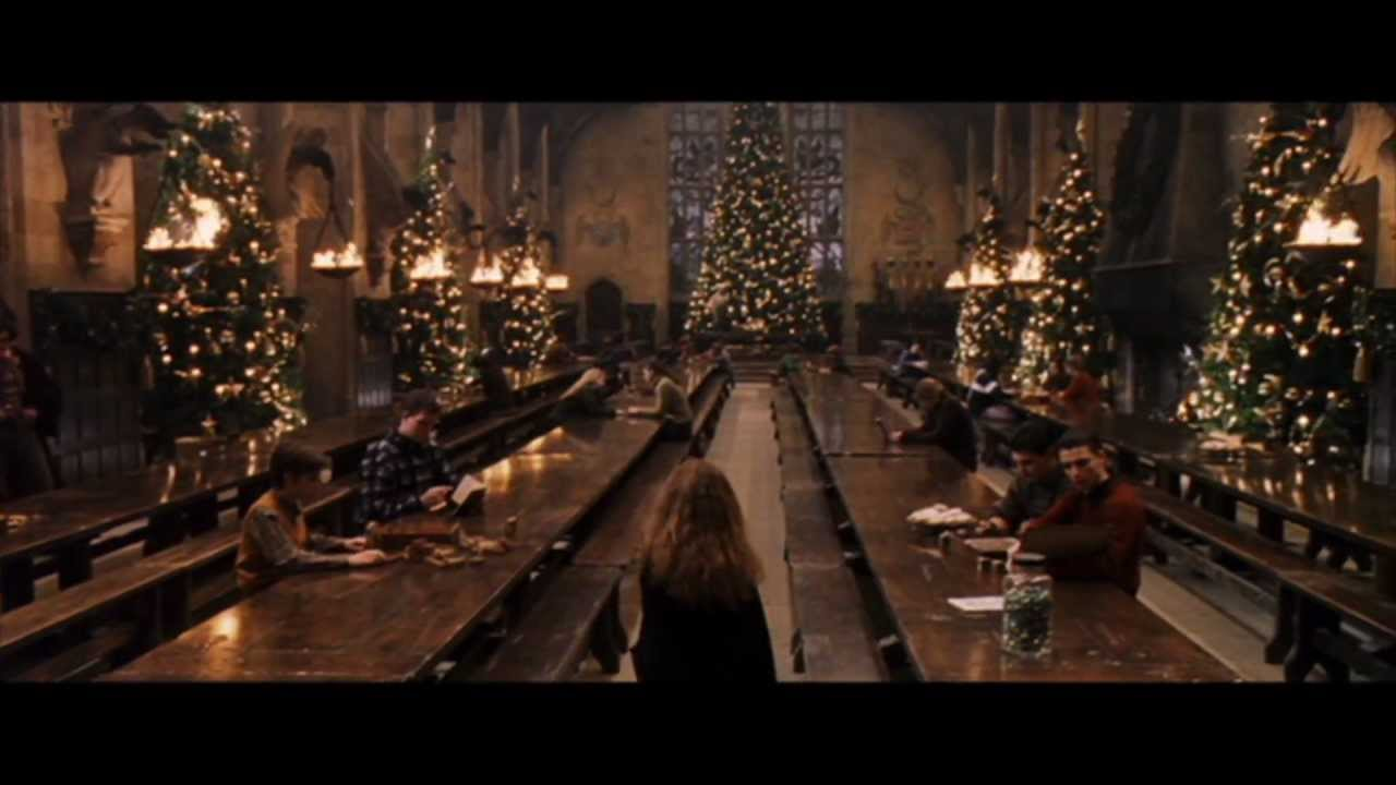 Christmas Harry Potter.Harry Potter And The Philosopher S Stone Christmas At Hogwarts Hd