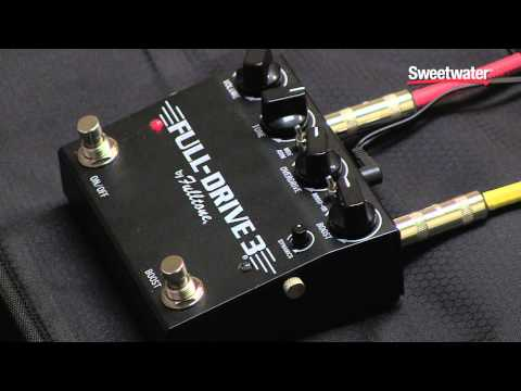 Fulltone Fulldrive 3 Overdrive Pedal Review - Sweetwater Sound