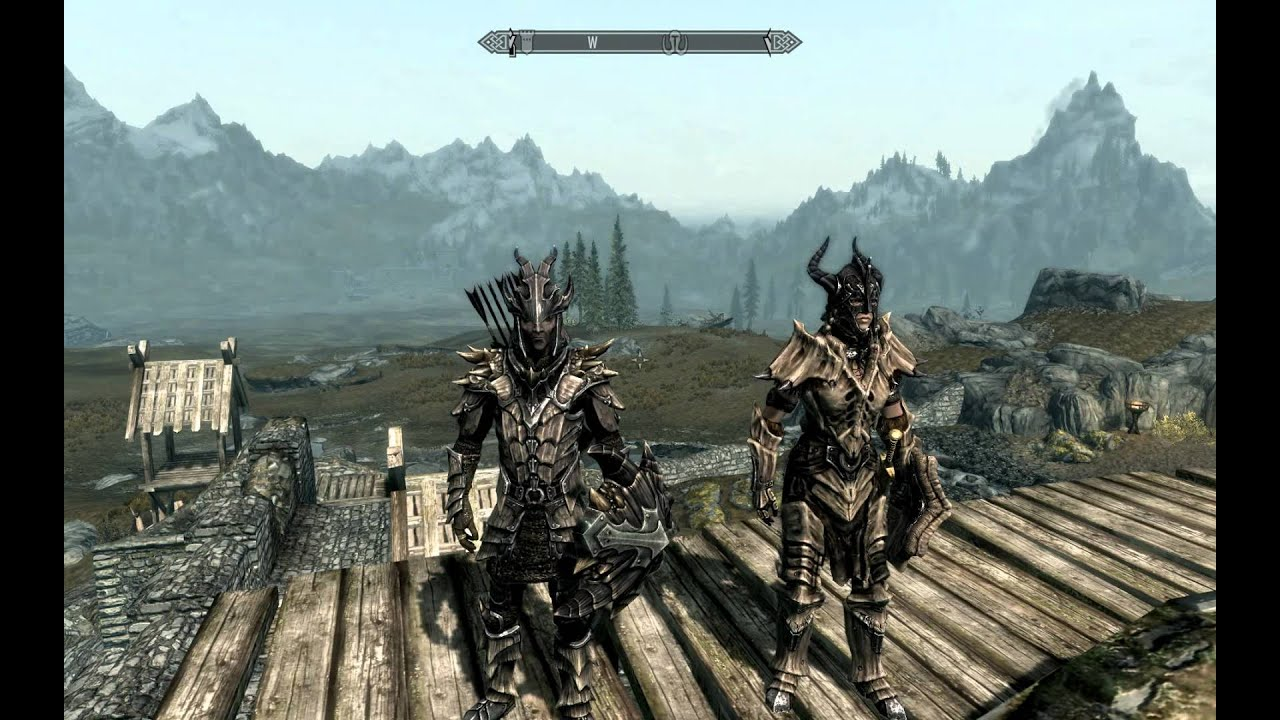 Skyrim both sets of Dragon Armour. Dragon Scale u0026 Dragon Plate & Skyrim both sets of Dragon Armour. Dragon Scale u0026 Dragon Plate - YouTube