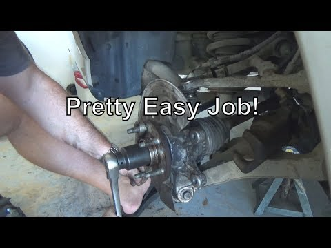 Replace Rear Hub Bearing On Lincoln