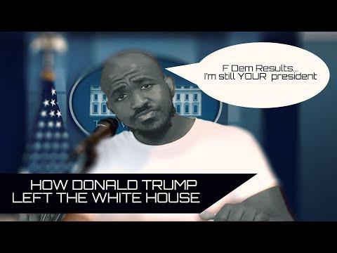 How Donald Trump Left The White House (Parody) [UPOE INC.]