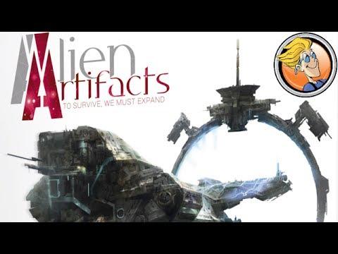 Alien Artifacts — game preview at Origins Game Fair 2017