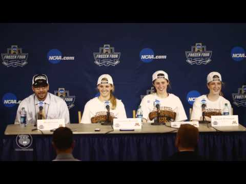 Press Conference: Gopher Women