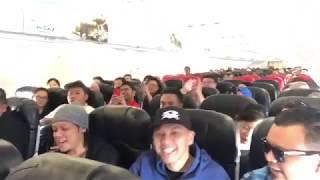 ruffedge sempoi nyanyi lagu bila rindu dalam kapal terbang semasa ke pulau pinang