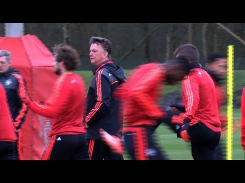 Manchester United prepare for Europa League clash at Anfield