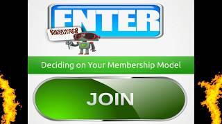 Deciding on your membership model! #ezine #newsletters #membershipwebsites