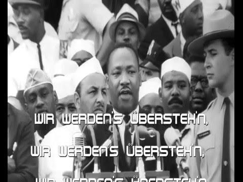 """Wir werdens ueberstehn (Cover von """"We Shall Overcome"""")"""