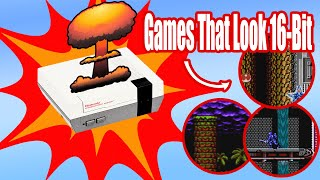 Games That Push The Limits of the NES : Graphics Deep Dive