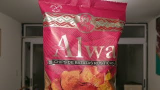 Chips de batata ALWA (apto celíacos)