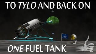 To Tylo And Back Using A Single Fuel Tank - KSP