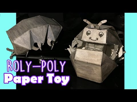 Mechanical Paper Toy (Roly Poly) Inspired by Haruki Nakamura  - 2018