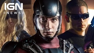 first look at flash arrow spinoff legends of tomorrow ign news