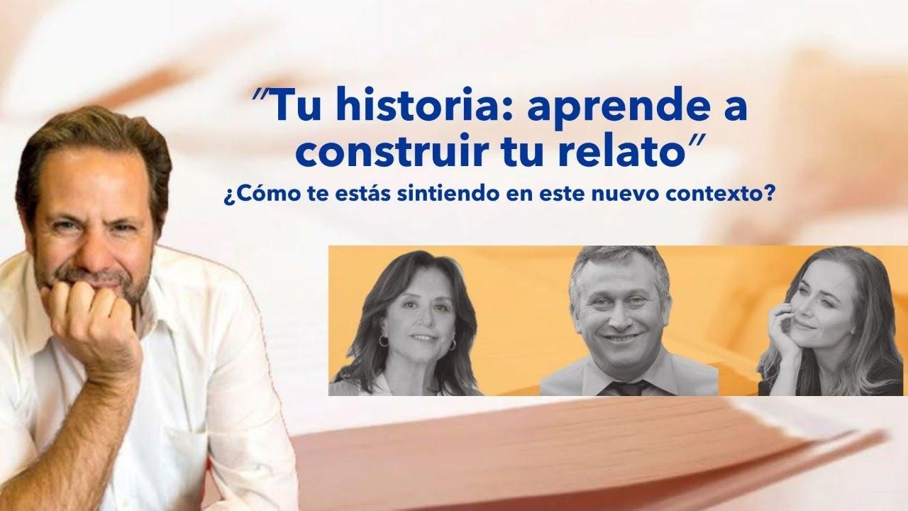 "Charla: ""Tu historia: aprende a construir tu relato"""