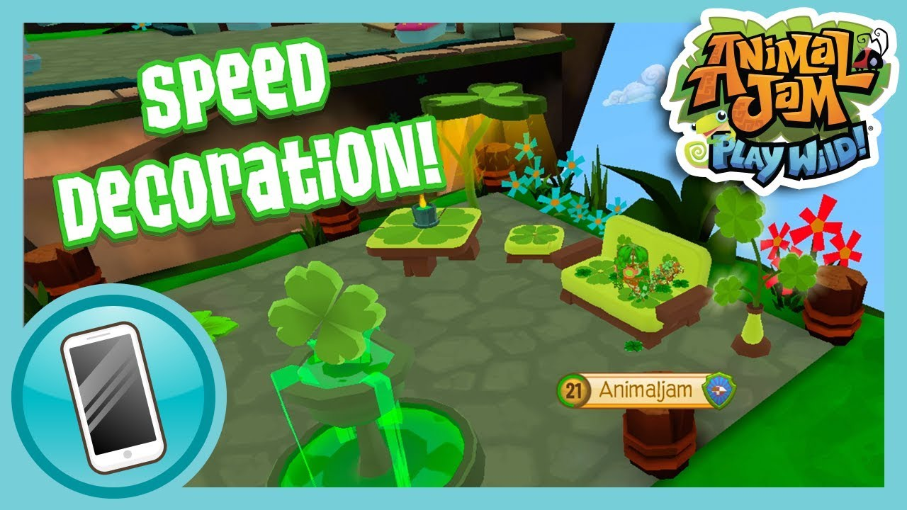 Floating Fortress Speed Den! | Animal Jam - Play Wild ...