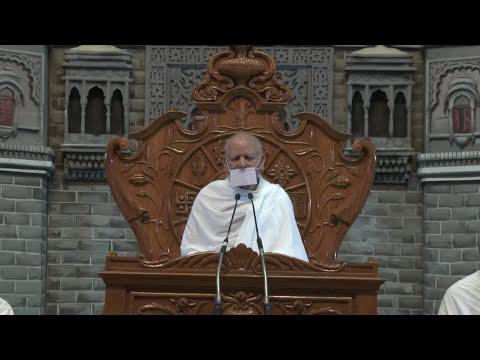 Indore Chaturmas -26-10-2017 आत्मा से  परमात्मा बनने  साधना है आत्म ध्यान  प्रयोग