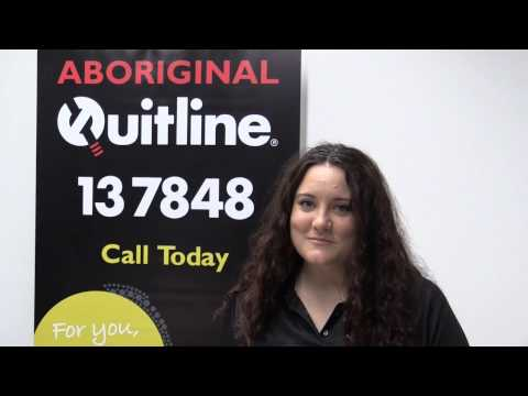 What is the Aboriginal Quitline service?