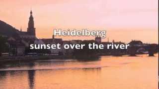Heidelberg Sunset over the River