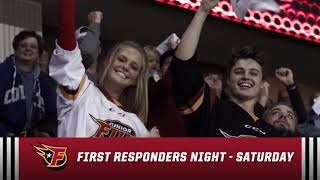 Indy Fuel Hockey – First Responders/Military Night