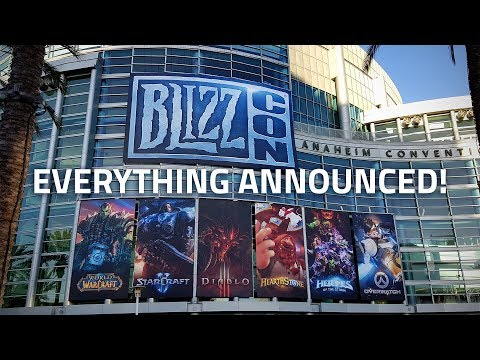 BlizzCon 2017: Top 5 Announcements | Overwatch, StarCraft 2, Hearthstone, and More