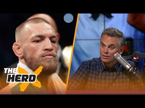 Conor McGregor gives explanation for why he lost - Colin isn't buying it | THE HERD