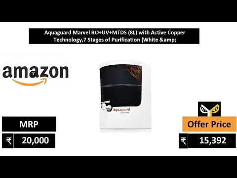 Bluestar Aristo water purifier || RO + UV || unboxing || from YouTube · Duration:  4 minutes 51 seconds