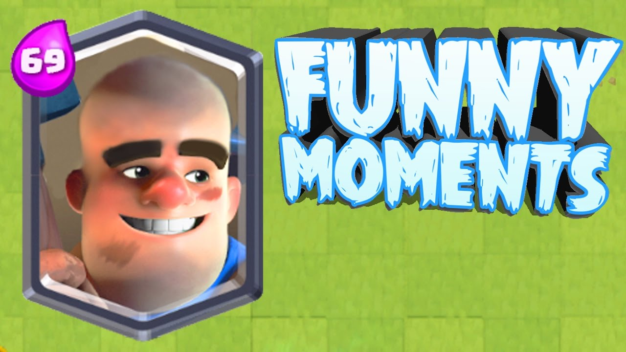 Funny Moments Glitches Fails Clash Royale Montage