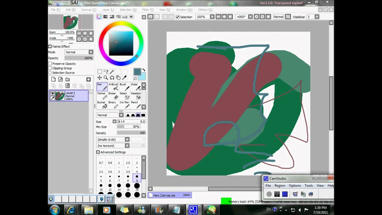 [Tutorial] How to use Paint Tool SAI trial after 32 days ...