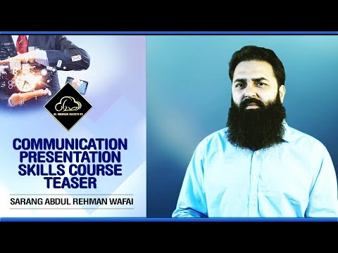 Communication and Presentation Skills Course Teaser | Al Midrar Institute