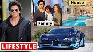 Shahrukh Khan Lifestyle 2020, Wife, Income, Son, House, Daughter, Cars, Family, Biography& Net Worth