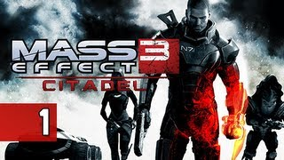 Mass Effect 3 Walkthrough - Citadel DLC Part 1 Random Acts of Violence Gameplay Commentary