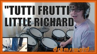 ★ Tutti Frutti (Little Richard) ★ Drum Lesson PREVIEW | How to Play Song (Charles Connor)